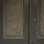 Gjetemyren gård - detalj fra døren