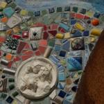 Mosaikk utenfor Samfunnshuset på Sagene