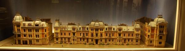 Det engelske kvarter - modell på Bymuseet