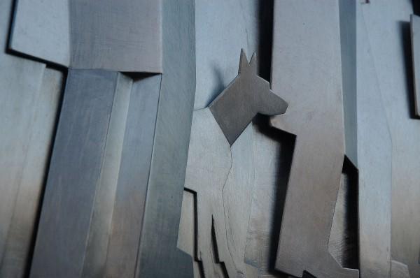 Minnesmerke over Nansen av kunstneren Thomas Qvarsebo.