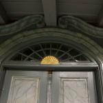 Gjetemyren gård – detalj fra døren