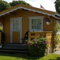 Hjemmets Kolonihager  - gult hus