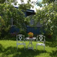 Hjemmets Kolonihager  - blått hus