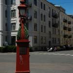 Nedstigningstårn på hjørnet Løvenskiolds gate -  Balders gate