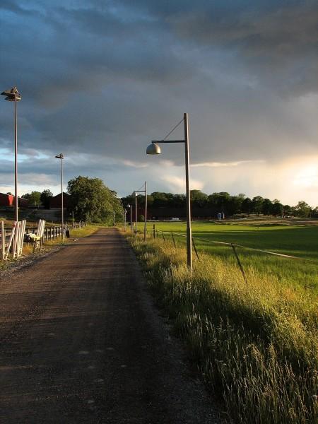 Ved bondegården til Bygdøy Kongsgård. Bildet er tatt med Canon PowerShot S2 IS.