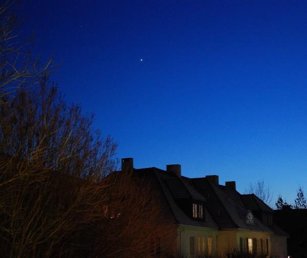 Stjernen over hustakene
